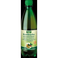 Concentrat kombucha cu inulina, vit C, ananas, papaya, maces (500 ml)